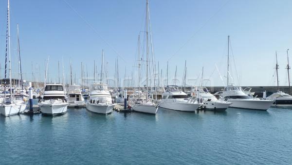 harbour at Lanzarote Stock photo © prill