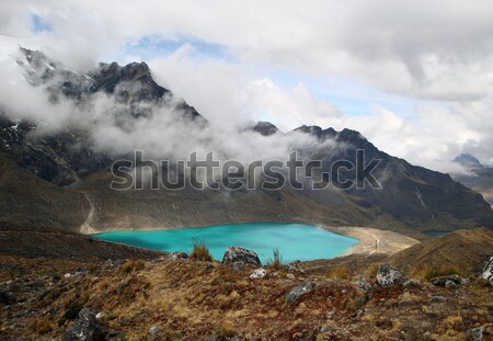 Manzara etrafında Peru güney amerika su doğa Stok fotoğraf © prill