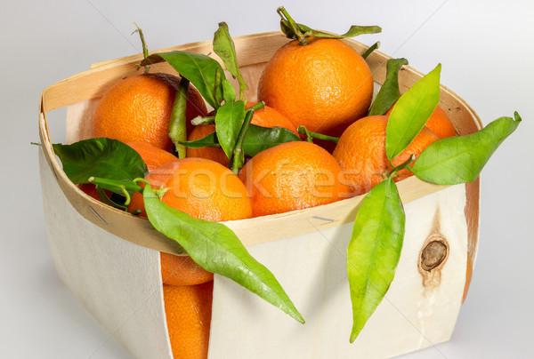 апельсинов окна серый назад лист Сток-фото © prill