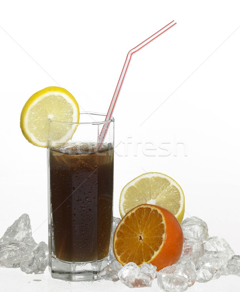 iced soft drink Stock photo © prill