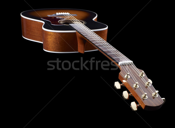 Acoustic Guitar Stock photo © prill