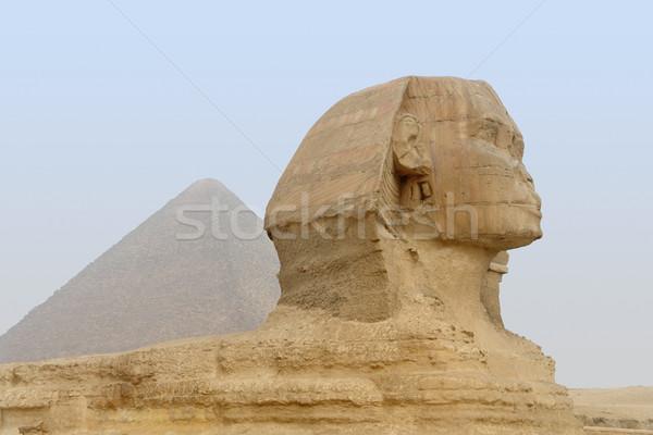 Giza Necropolis Stock photo © prill
