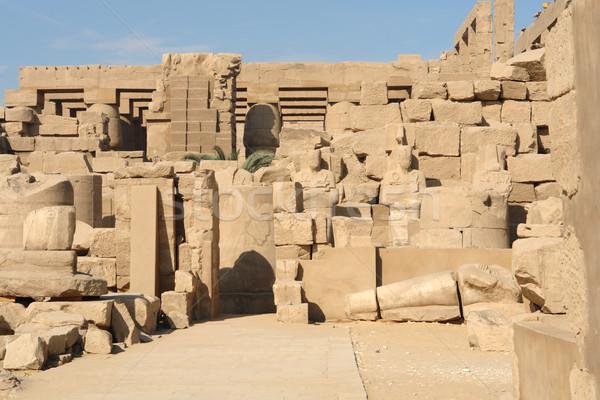 Precinct of Amun-Re Stock photo © prill