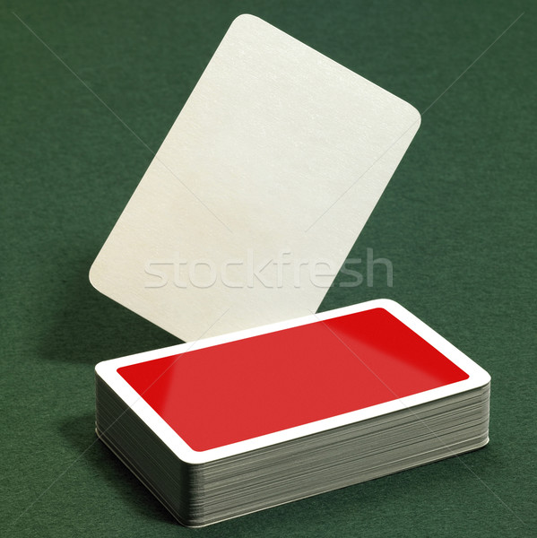 stack of playing cards Stock photo © prill