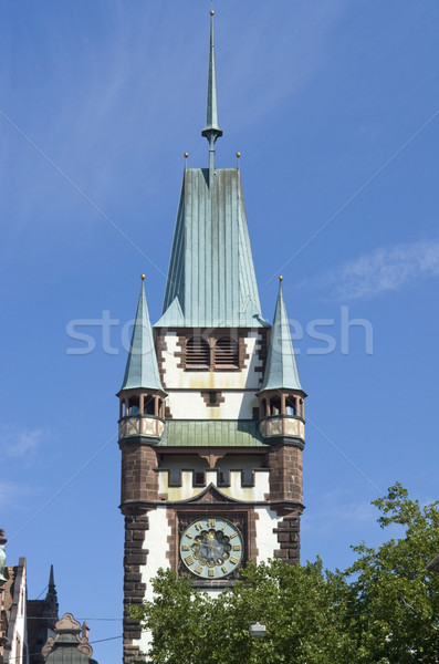 Martinstor at Freiburg im Breisgau Stock photo © prill