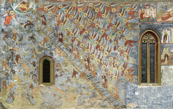 Sucevita Monastery Stock photo © prill