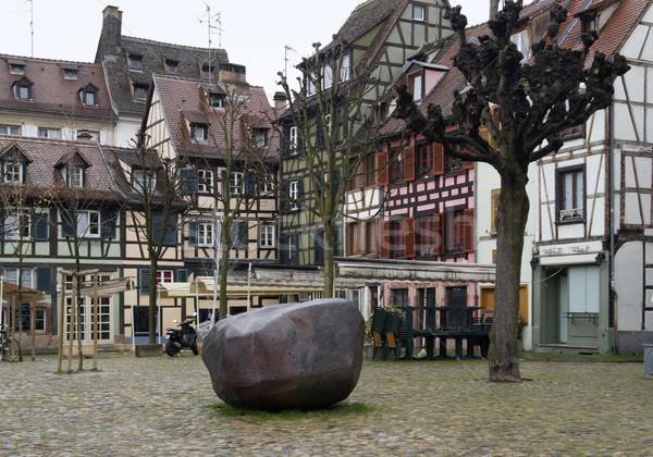 scenery in Strasbourg detail Stock photo © prill