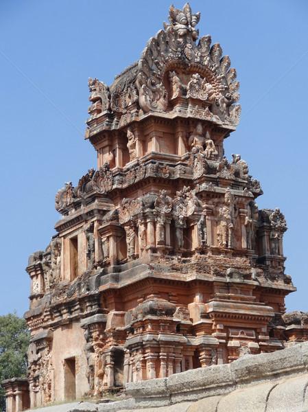 Krishna Temple at Hemakuta Hill Stock photo © prill