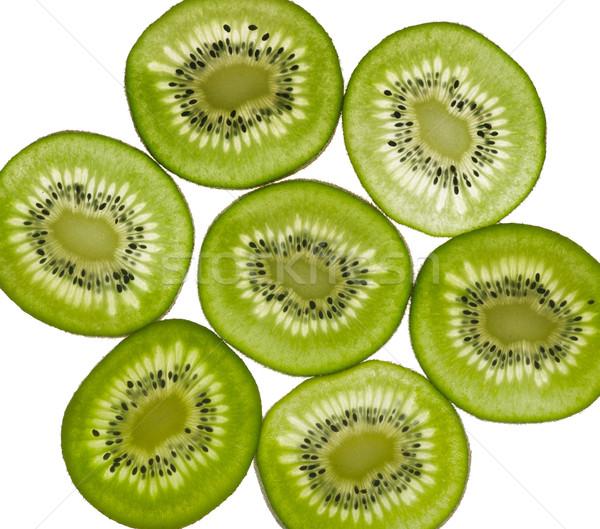 Stock photo: sliced Kiwifruit