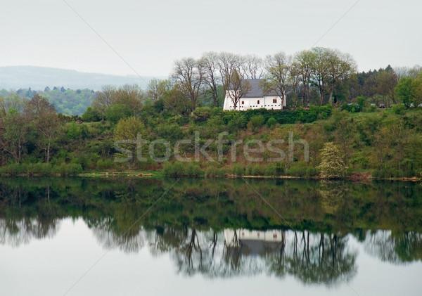 chapel in the Vulkan Eifel Stock photo © prill