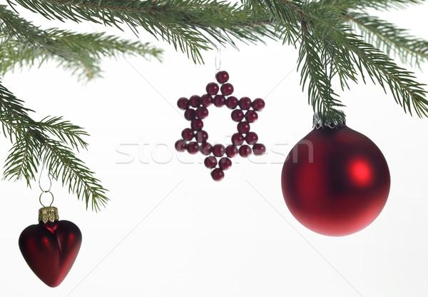 decorative christmas back Stock photo © prill