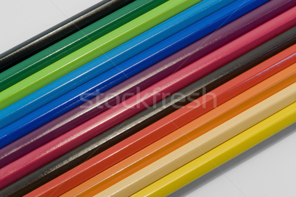 coloured pencils Stock photo © prill