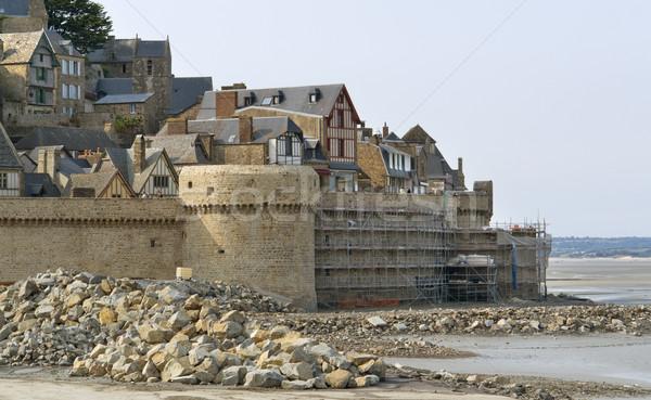 around Mont Saint Michel Abbey Stock photo © prill