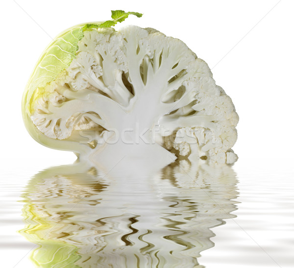 halved cauliflower Stock photo © prill