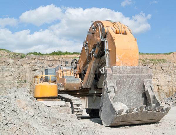 Excavator Stock photo © prill