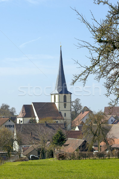 rural village in Southern Germany Stock photo © prill