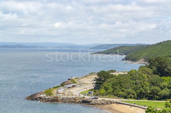 半島 風景 水 海 海 ストックフォト © prill