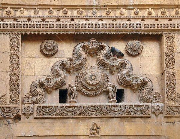 рельеф Индия исторический города здании строительство Сток-фото © prill