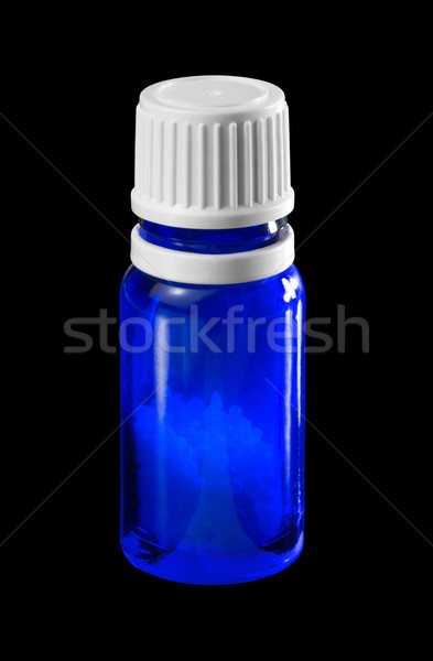 small bottle with globules Stock photo © prill