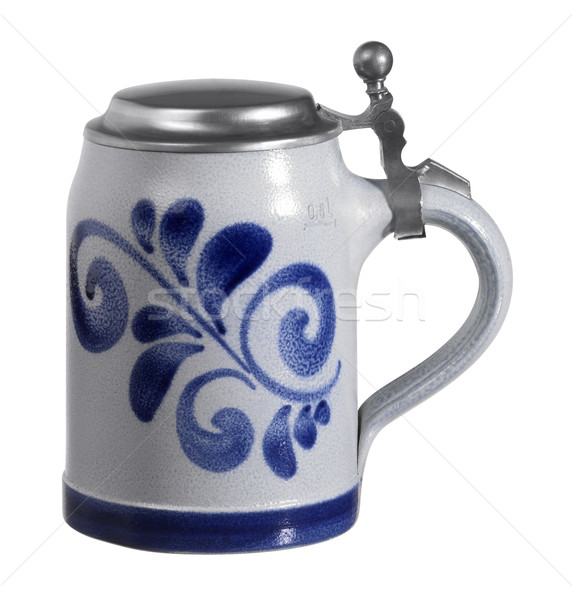 stein with metallic cap Stock photo © prill