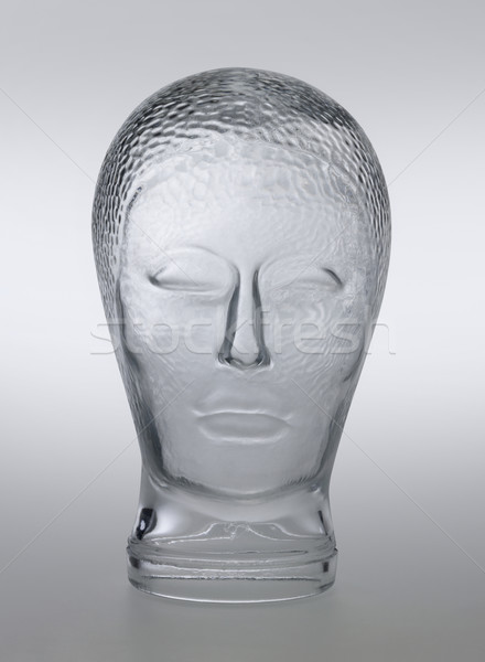 üveg fej profil lövés általános emberi Stock fotó © prill