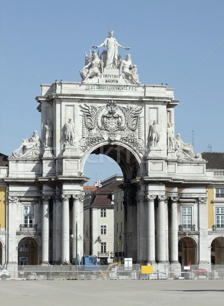 city view of Lisbon Stock photo © prill