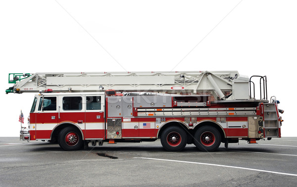 sideways shot of a fire engine Stock photo © prill