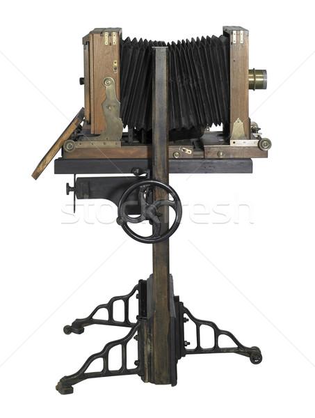 ностальгический камеры древесины мнение белый Сток-фото © prill