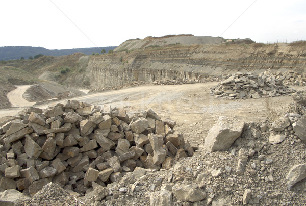 stone pit scenery Stock photo © prill