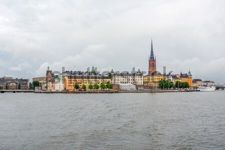 Stockholm city view Stock photo © prill