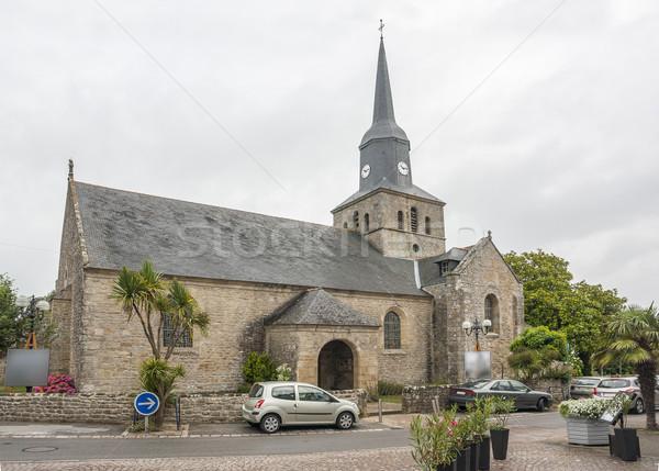 church in Locmariaquer Stock photo © prill