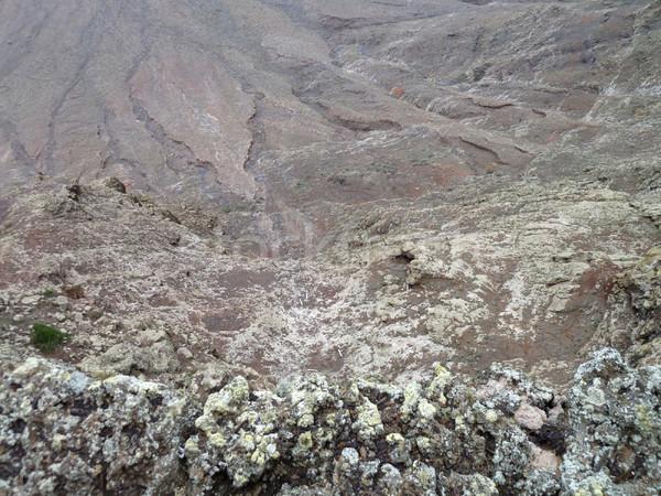 landscape at Lanzarote Stock photo © prill