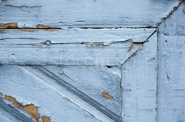 flakung blue paint Stock photo © prill