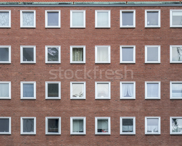 generic house facade Stock photo © prill