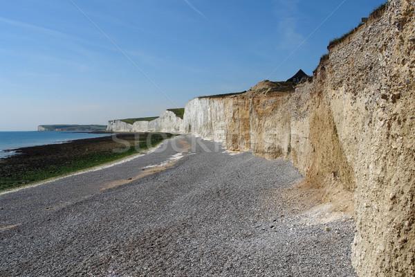 Formatie zeven zusters kust landschap Stockfoto © prill