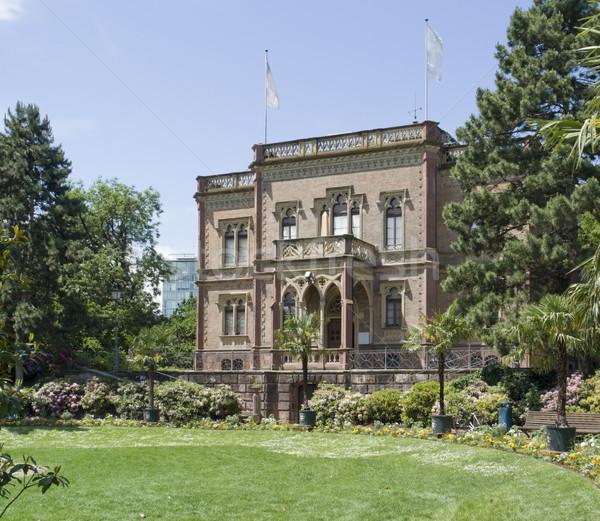 manor house in Freiburg Stock photo © prill