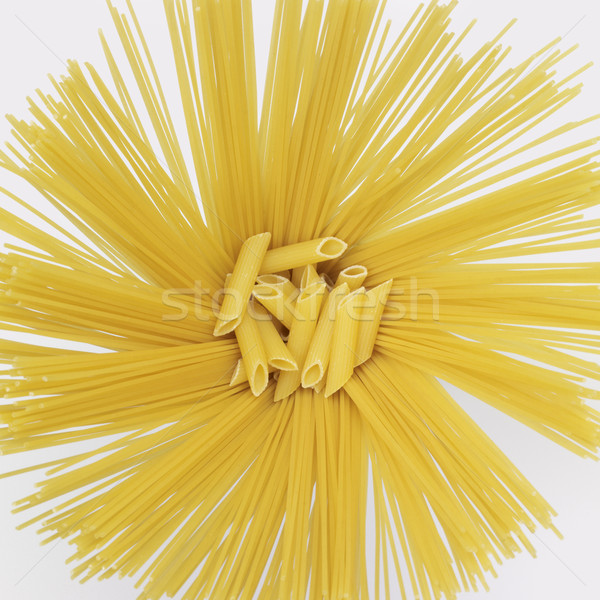 radial spaghetti and penne Stock photo © prill
