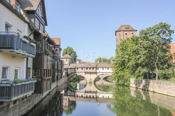 Nuremberg in Bavaria Stock photo © prill