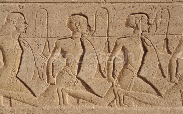relief at Abu Simbel temples Stock photo © prill