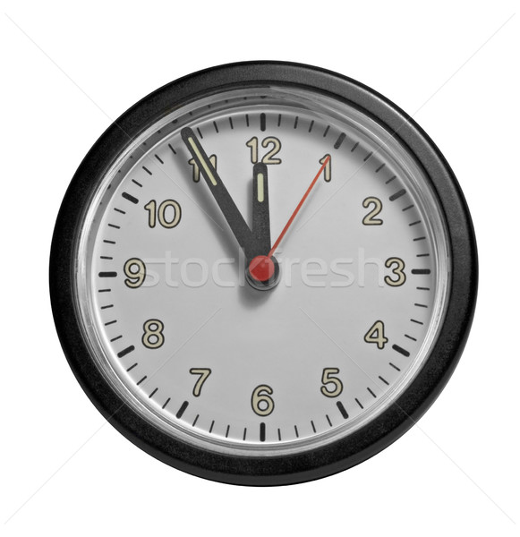 frontal clock face Stock photo © prill