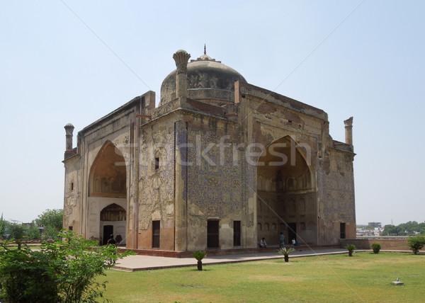 Chini Ka Rauza in Agra Stock photo © prill