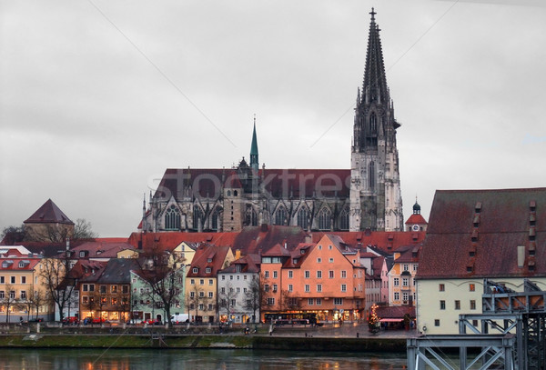 Regensburg Stock photo © prill