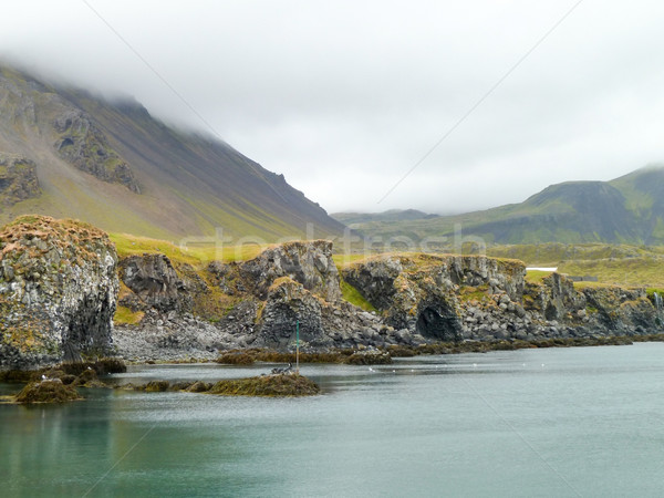 Icelandic coast Stock photo © prill