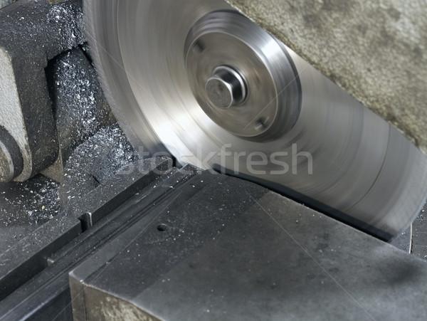 Körkörös fűrész részlet épület építkezés ipar Stock fotó © prill