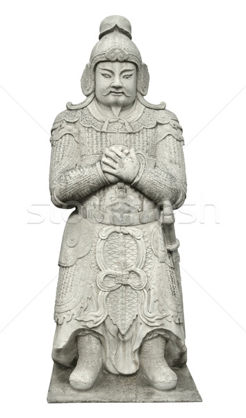 Statue at the Spirit Way near Beijing Stock photo © prill