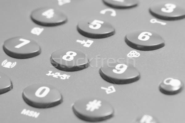 dark phone keypad Stock photo © prill