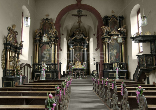 church in Bavaria Stock photo © prill