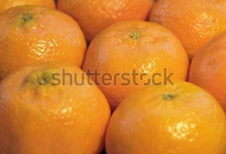 マンダリン オレンジ フルフレーム 自然 新鮮な ストックフォト © prill