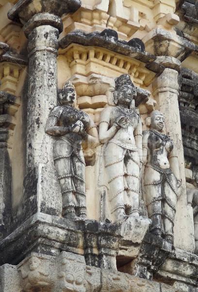 detail at Virupaksha Temple Stock photo © prill