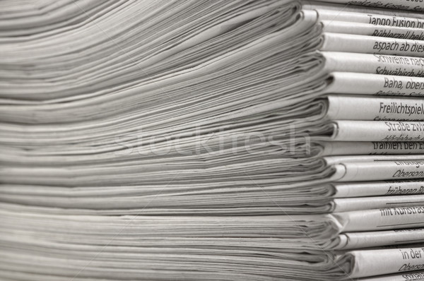 lots of newspapers Stock photo © prill